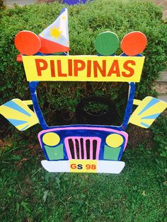 JEEPNEY Fiesta Theme Party, Party Themes, Party Ideas, Jeepney, Fondant Decorations, Fathers Day Crafts, 1st Birthdays, Independence Day, Christmas Decorations