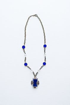 vintage 1920s necklace | art deco necklace