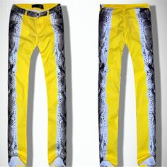 Find More Jeans Information about European Style 2015 New Yellow Snake Skin Women Slimming Printed Jeans Women Elastic Skinny Sexy Show Jeans Printing,High Quality jean blouse,China jean suit Suppliers, Cheap jeans jackets for ladies from HongKong Goods LTD-Smarter Shopping Better living ! on Aliexpress.com