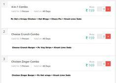 KFC Offers Chandigarh: Complete List of KFC Store Offer, Coupons, Deals,Chandigarh Kfc Offers, Choco Pie, Lime Soda, Crispy Chicken, Chandigarh, Day, Coupons, Store, Chocolate Torte