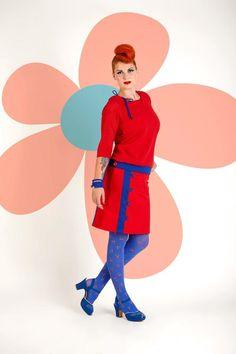 Buy your new dress on newdress.dk  Margot top: Alma Margot skirt: Bigdance Spring 2016 #newdress_dk #vintagedress #retrodress