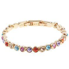 Aus der Tennisarmband Kollektion von Stella-Bijou mit Swarovski Kristallen Neue Trends, Pandora Charms, Swarovski, Charmed, Bracelets, Jewelry, Fashion, Fashion Jewelry, Bangles