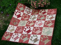 Renee Nanneman is giving away this cake stand quilt to one lucky winner. It makes beautiful use of our Itsy Bits and Stone Cottage collections. Click on the picture to find out how to win!