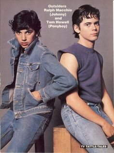 Ralph Macchio & C. Thomas Howell - The Outsiders