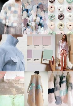 SPRING 2017 FASHION INSPIRATION - Pastels