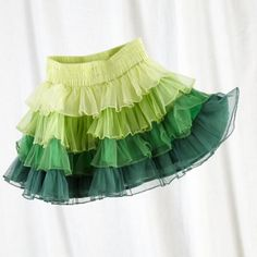 Girl's Green Ombre Tutu Skirt - The Land of Nod
