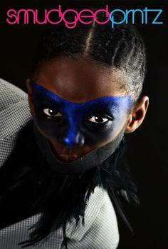 avant garde makeup chld entertainers www.smudgedprntz.com