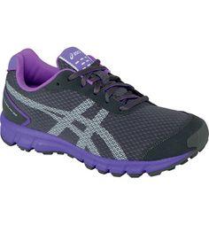 Asics Women's Matchplay33 Golf Shoes (Charcoal Gray/Neon Purple)