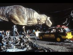 Behind the scenes of JURASSIC PARK's T-Rex. Building an Animatronic Dinosaur - Part 3. Special Effects by Stan Winston Studio.