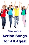 Preschool Movement & Activity Songs for Early Childhood - links to recordings
