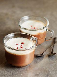【ELLE a table】ショコラ・ショ・ノワール(ホット・ダークチョコレート)レシピ エル・オンライン