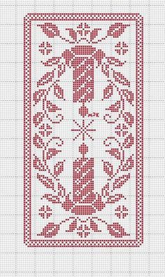 this pin was discovered by Crochet Thread Patterns, Crochet Tablecloth Pattern, Christmas Crochet Patterns, Holiday Crochet, Crochet Curtains, Doily Patterns, Knitting Patterns, Free Knitting, Filet Crochet Charts