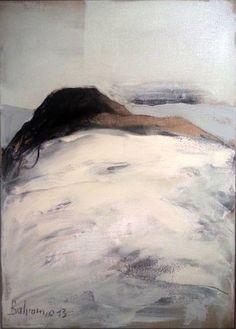 "Saatchi Art Artist Bahram Hajou; Painting, ""Unbekümmert"" #art"