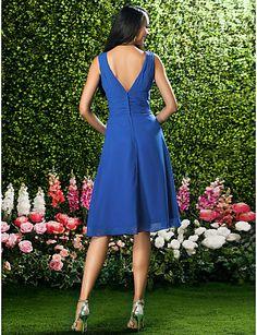 REILLY - Vestido de Fiesta de boda o de Dama de honor de Gasa 24111 2016 – $1,243.36