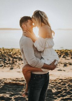 Fabulous Wedding Photography Secrets And Ideas Engagement Photos Adorable engagement beach photo Beach Engagement Photos, Engagement Photo Outfits, Engagement Shoots, Beach Engagement Photography, Beach Photos Couples, Engagement Photo Inspiration, Fall Engagement, Pictures Ideas For Couples, Photo Shoot Outfits