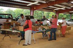 Saturday is a market day at Greeneville Farmers Market in Greeneville, Tennessee 8am - 1pm http://www.farmersmarketonline.com/fm/DowntownGreenevilleFarmersMarket.html