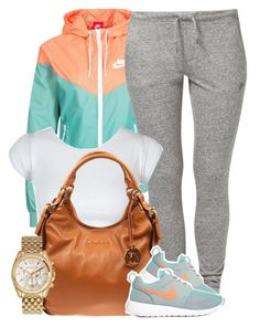 """""""Untitled #672"""" by perfectlyy-imperfect ❤ liked on Polyvore featuring NIKE, MICHAEL Michael Kors and Michael Kors"""