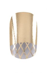 #HND #Nail #Wraps - Moon Fishnet Gold  Hollywood Nail Design £5.50 for a pack of 15.
