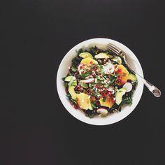 Kale, Orange and Fet