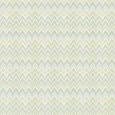 Waverly Classics Heartbeat Wallpaper, Spring Green/Teal/Cream, Multicolor