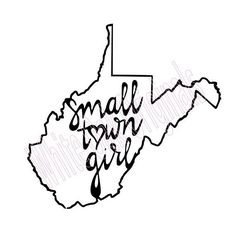 Almost Heaven Wv Decal West Virginia Decal State Decal