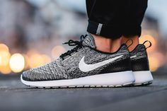 89102e3402e24 Monochromatic Tones on The Nike Flyknit Roshe One — Sneaker Kat