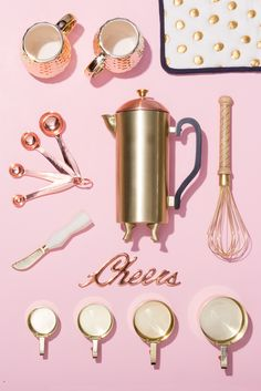 Treat your mom to beautiful kitchen gadgets that will add more fun + color to her home. #partner