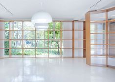 Office renovation with wooden and polycarbonate partitions by Daipu Architects