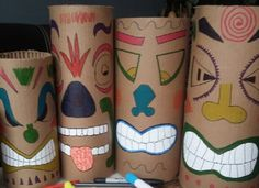 Bricolage totem Koh Lanta : des idées simples et originales Luau Party Decorations, Party Themes, Totem Koh Lanta, Ko Lanta, Moana Themed Party, Video Game Party, Game Room Design, Afro, Birthday Games