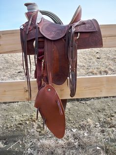 buckaroo saddles | One punchy custom buckaroo/cowboy saddle