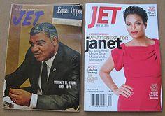 JET Magazine new brand identity - that I spearheaded at JPC.