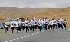 The 1st Marathon of Afghanistan took place October 16 in Bamiyan, a beautiful UNESCO world heritage valley west of Kabul. The race was an initiative of UK runner and adventurer James Bingham to prove that, despite the challenges faced by Afghanistan and its people, it is possible to look beyond headlines of conflict, and to get things done. Through running, hopefully people from different groups, faiths, nationalities and genders could all be a part of a positive story for the country.