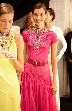 Go backstage the Ralph Lauren Spring 2015 Collection show.