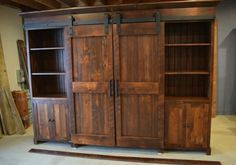 Pin by modelhom on BARN DOOR ENTERTAINMENT CENTERS | Pinterest ...