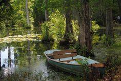 Take me here - rowboat