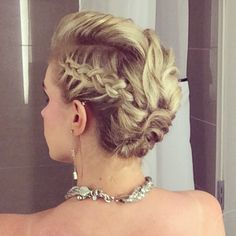 Hair Inspiration: BRIDESMAID UPDO by LauraLizHam. Browse our real-girl gallery #TheBeautyBoard on Sephora.com & upload your own look for the chance to be featured here! #Sephora #hairstyles #updo