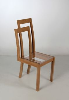 Meander Chair, two chairs in one, by Anni Chego