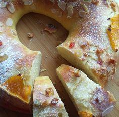 Helenkine dobroty - Španielsky kráľovský kruh kváskový French Toast, Dairy, Cheese, Breakfast, Food, Morning Coffee, Essen, Meals, Yemek