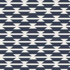 1 Yard Tomahawk Stripe Arizona-Kollektion Designed von moderncloth