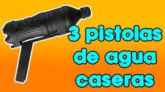 ▶︎▶︎▶︎▶︎3 Pistolas de AGUA (Super Fáciles) de Hacer◀︎◀︎◀︎◀︎
