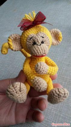 Нашествие обезьян! - Вязание - Страна Мам