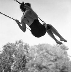 I love the feeling of the swing :)