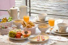 Mesa para el Café oh desayuno