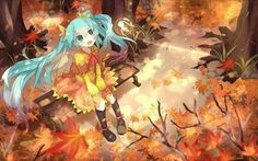 Fall Hatsune