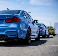 #MMonday: Follow the leader in the BMW #M3.