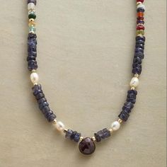 Dream In Blue Necklace                                              | Robert Redford's Sundance Catalog