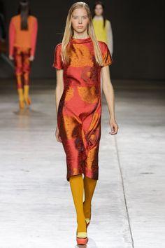 Michael Van Der Ham A/W14 @ London Fashion Week
