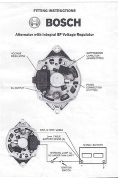 C Dc Be E Af on gm internal regulator alternator wiring