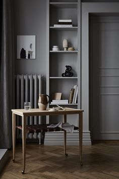 Smålands Skinnmanufaktur (SSM) Swedish furniture and accessories from an eco-conscious tannery Interior Design Blogs, Home Interior, Interior Architecture, Leather Design, Monochrome Interior, Design Trends 2018, Design Apartment, Interior Minimalista, Decoration Bedroom