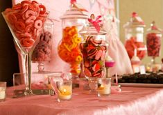 Sugar and Spice Baby Shower Candy Bar